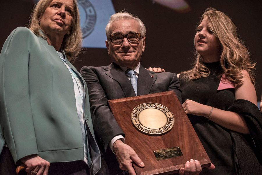 Martin Scorsese et Salma Hayek