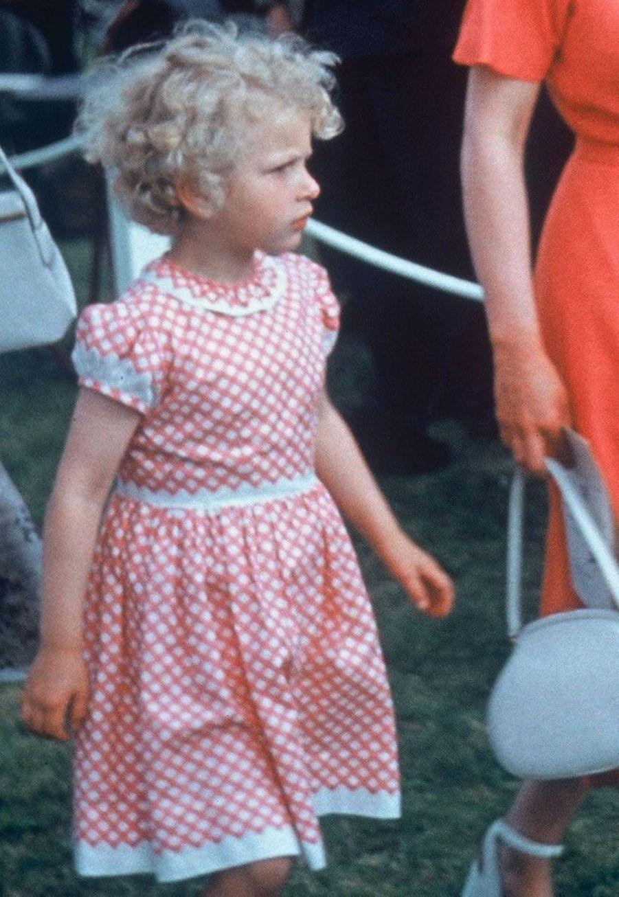 La princesse Anne en 1958