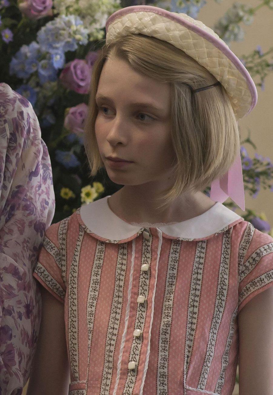 "Lyla Barrett-Rye, la princesse Anne dans ""The Crown"""