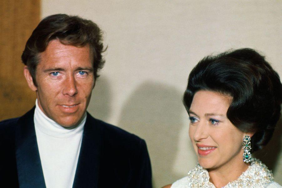 Antony Armstrong-Jones et la princesse Margaret en 1968