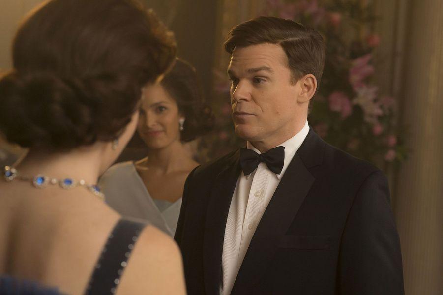"""Michael C. Hall, le président Kennedy dans """"The Crown"""""""