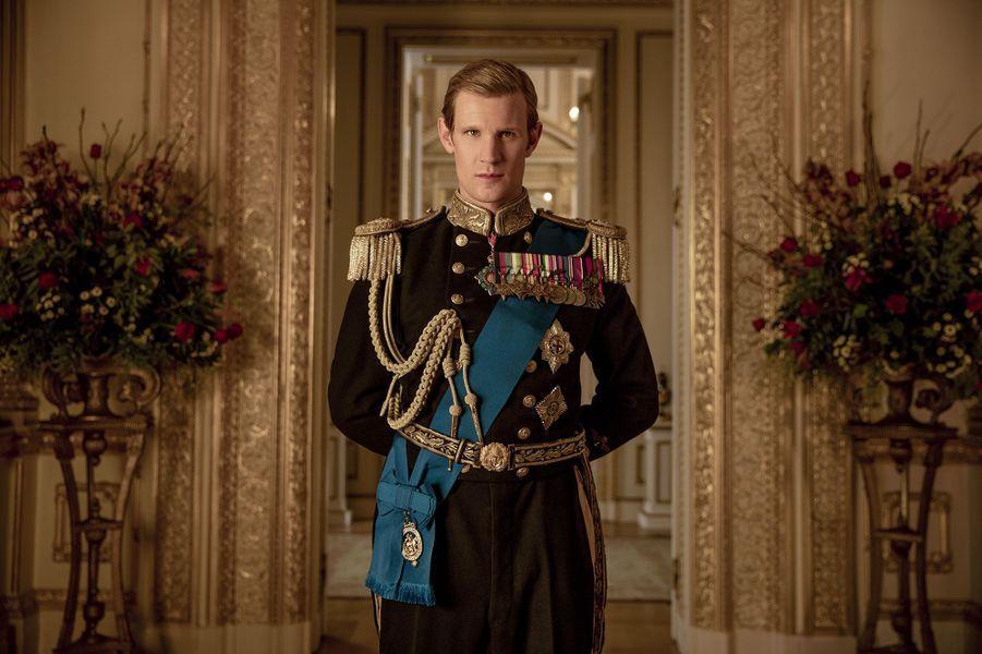 """Matt Smith, la prince Philip, dans """"The Crown"""""""