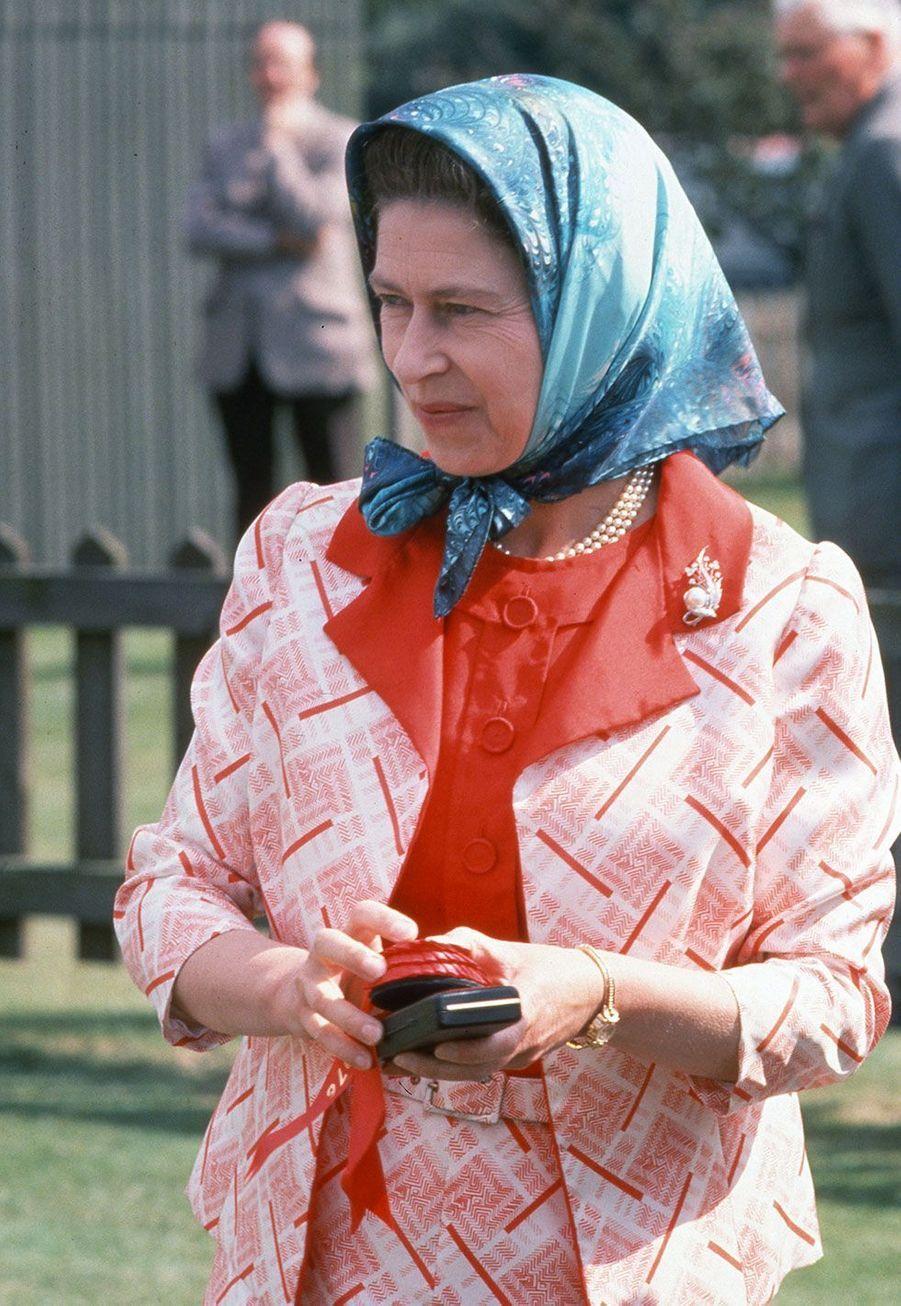 La reine Elizabeth II en 1977