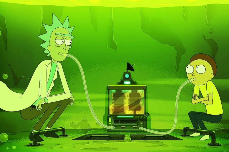 "6- ""Rick and Morty"""