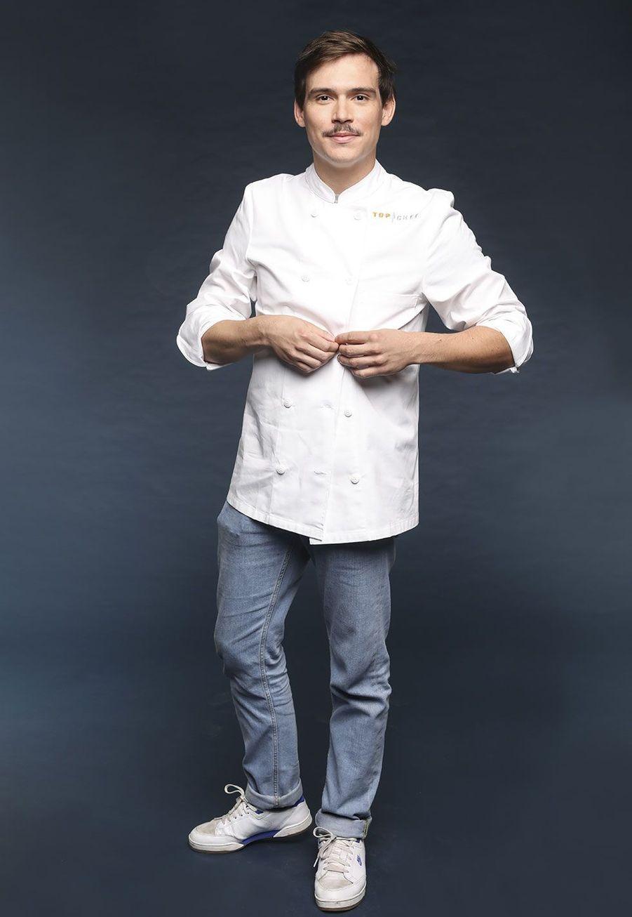 Damien Laforce, 23 ans, Chef, Lille