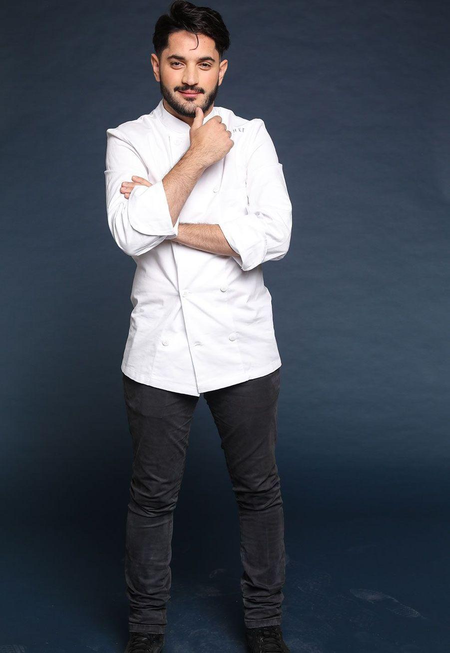 """Merouan Bounekraf, 28 ans, Chef à """"L'hôtel Le Metropolitan"""", Asnières-sur-Seine"""