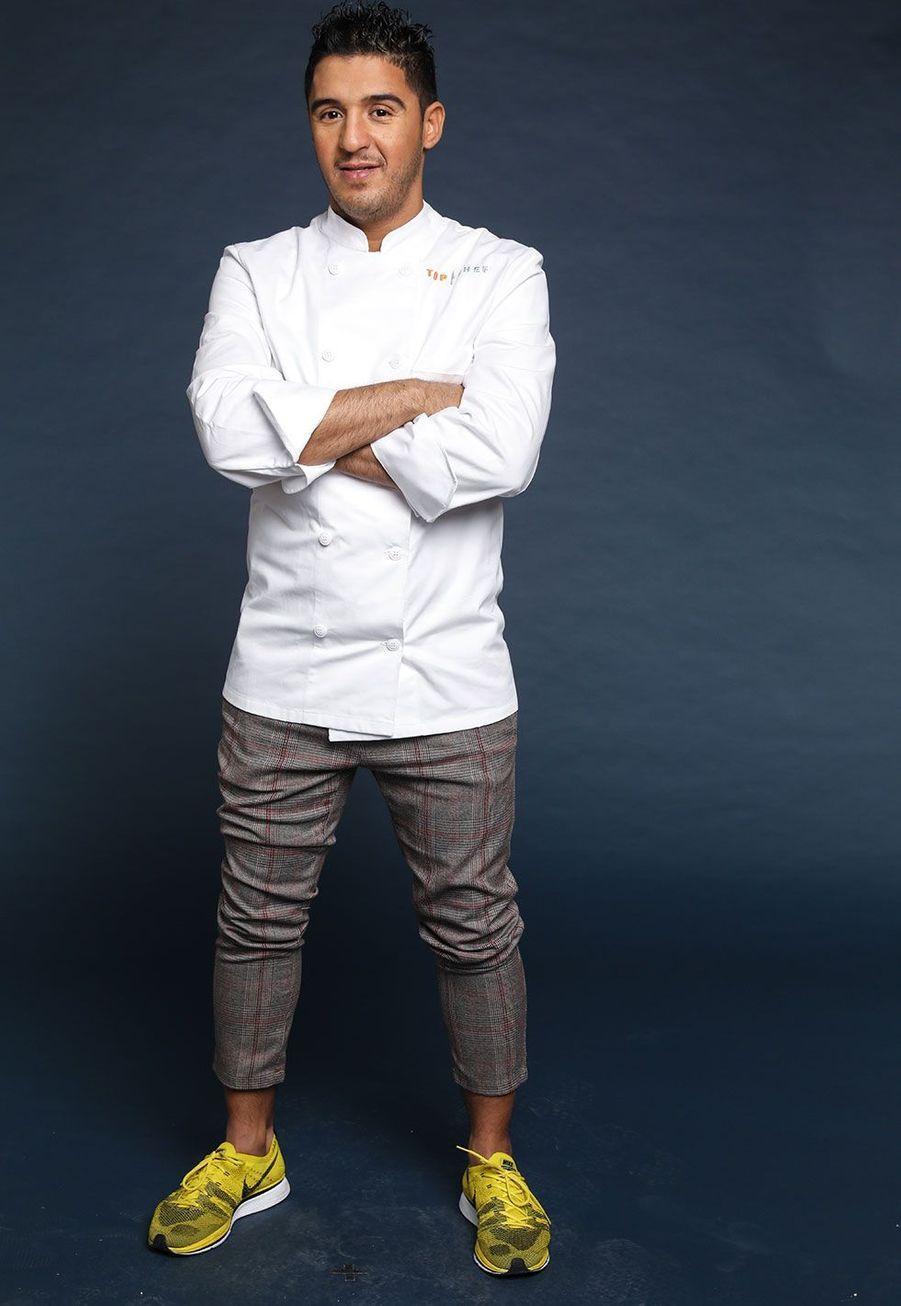 "Ibrahim Kharbach, 33 ans, Chef rôtisseur du ""Le Bozar"", Bruxelles"