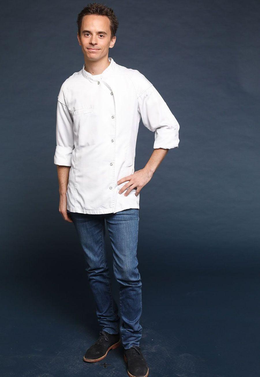 """Sébastien Oger, 30 ans, Chef privé Home cooking expérience """"O'2 Sens"""", Belgique"""