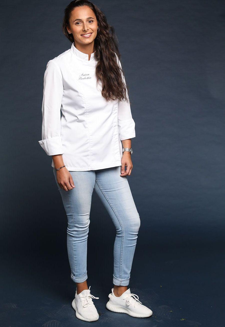 Anissa Boulesteix, 26 ans, Sous-chef de palace 5 étoiles, Nantes