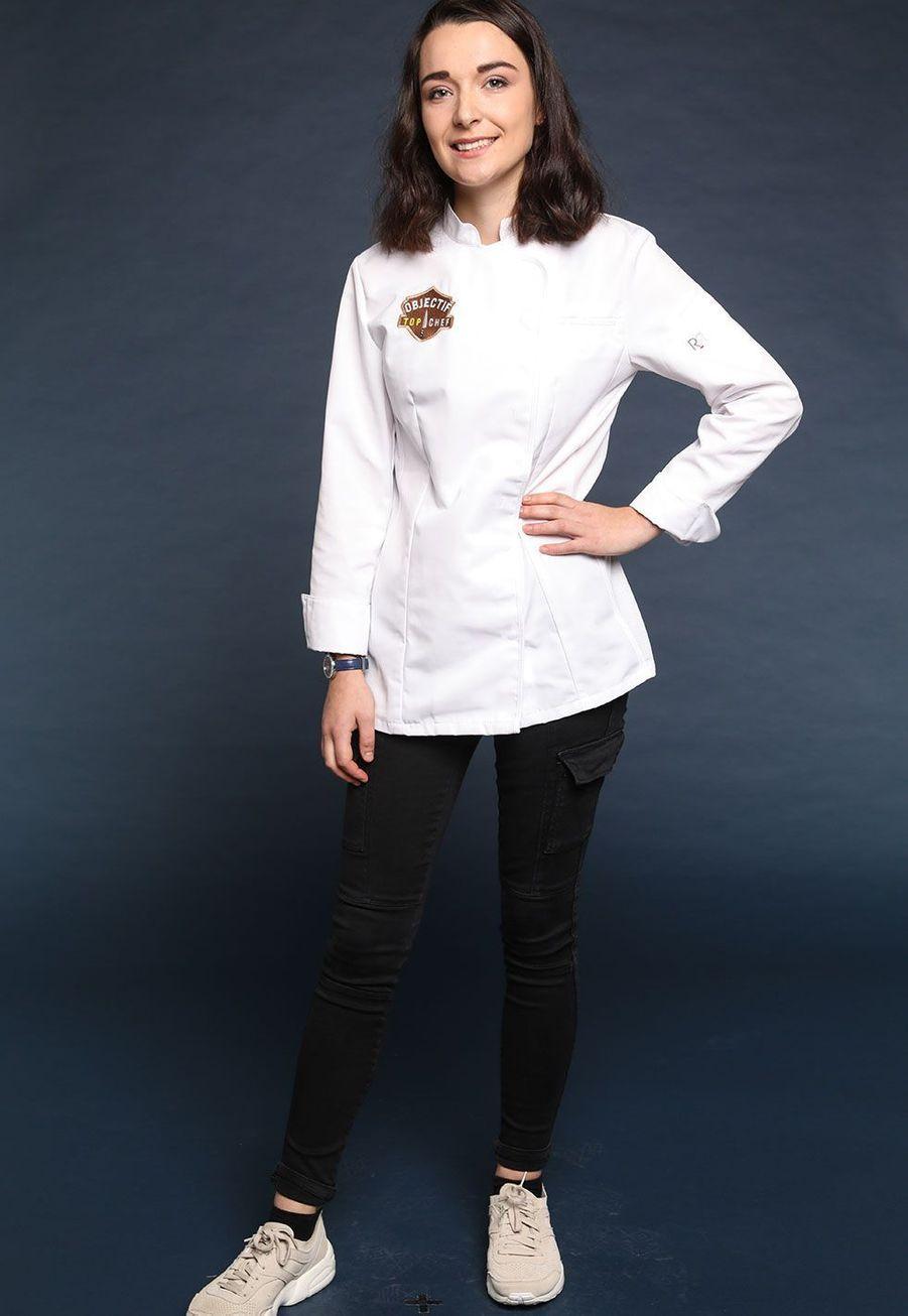 """Camille Maury, 20 ans, Gagnante d'Objectif """"Top Chef"""", Saint-Valery-en-Caux"""