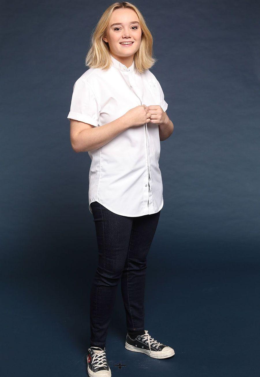 Alexia Duchêne,seconde de cuisine chez Passerini,23 ans, Paris