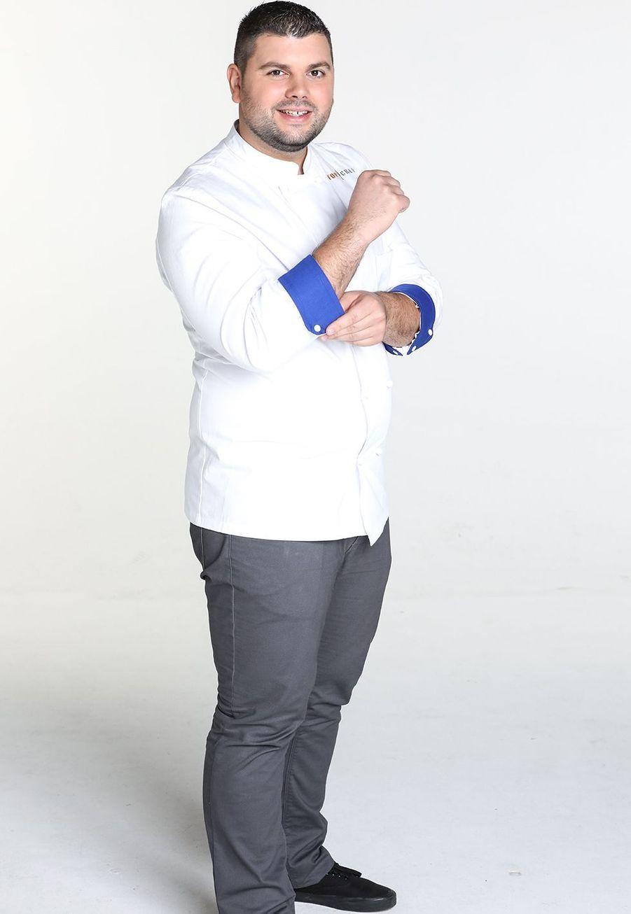 """Gratien Leroy, 29 ans, comptable et gagnant d'""""Objectif Top Chef"""""""
