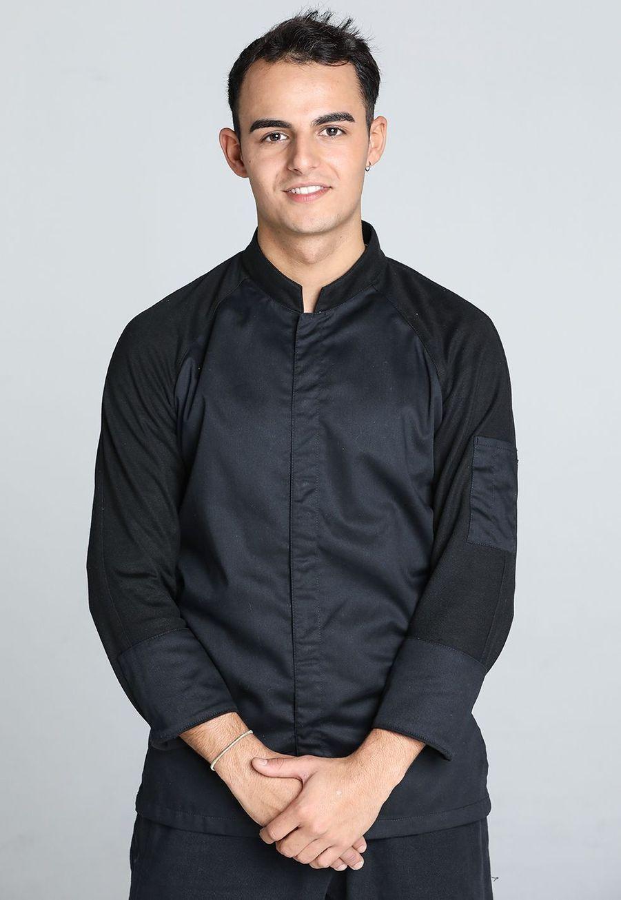 Diego Alary,22 ans, chef de cuisine à Paris