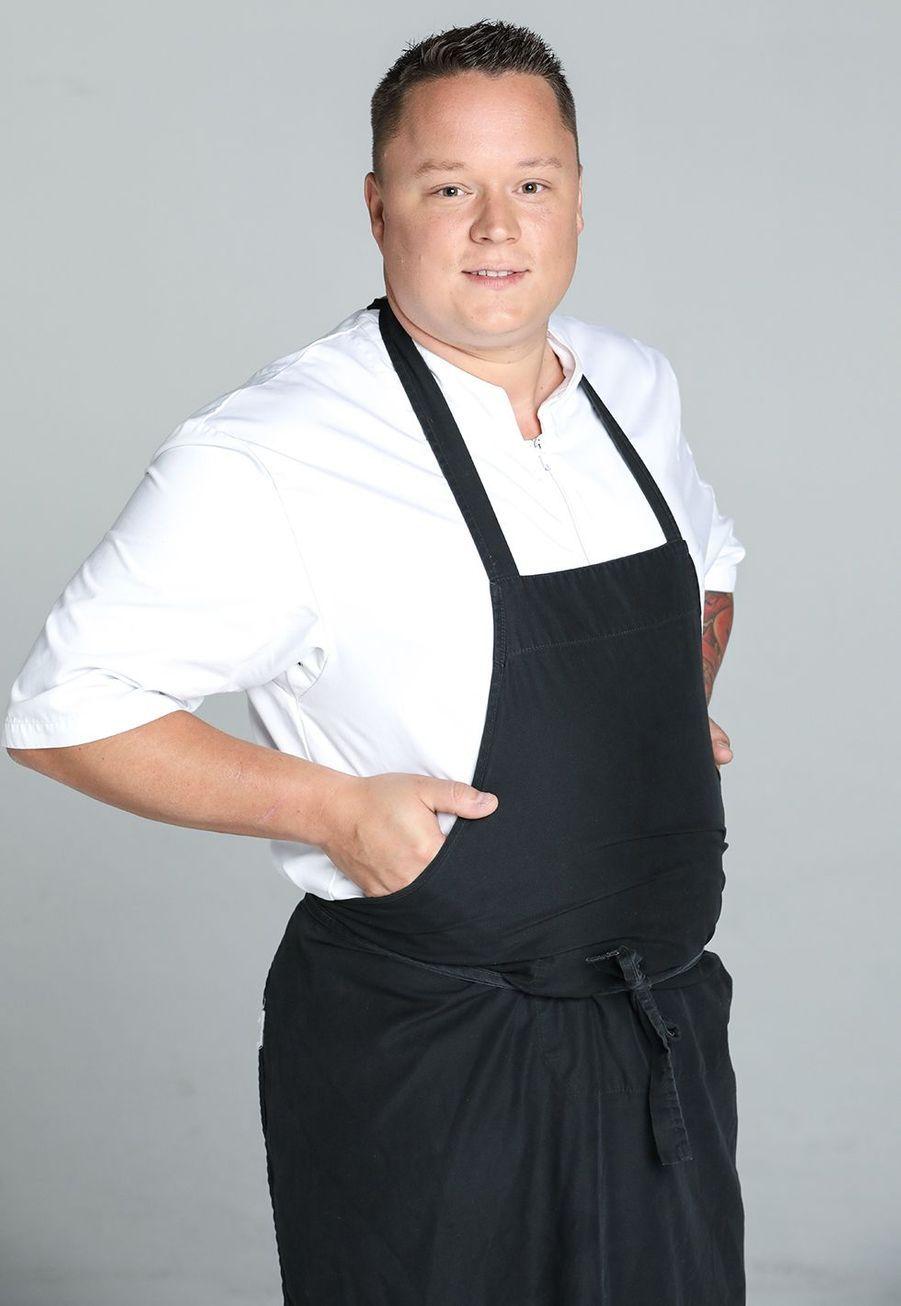 Maxime Zimmer, 29 ans, chef de son propre restaurant à Liège