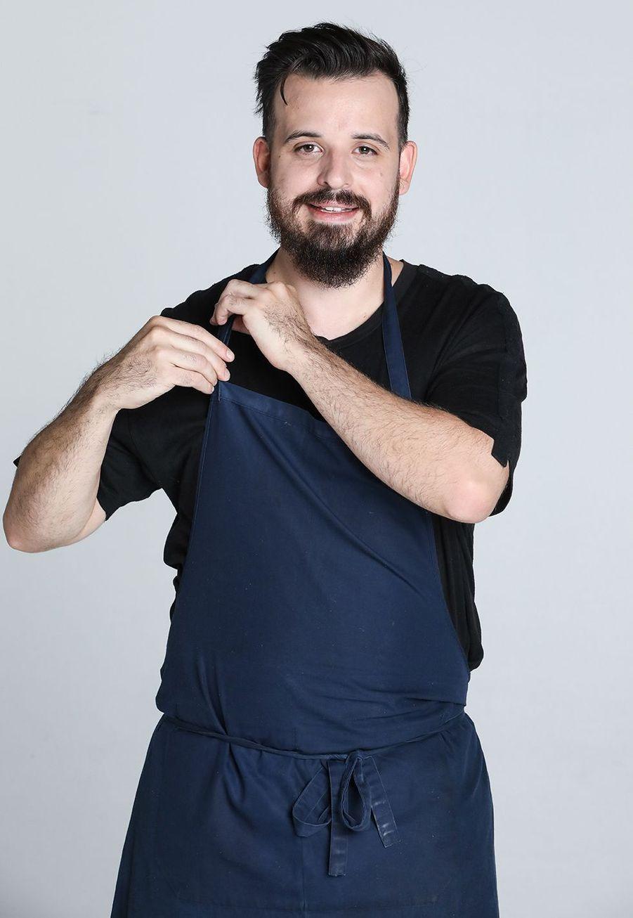 Adrien Cachot, 29 ans, chef de son propre restaurant à Paris