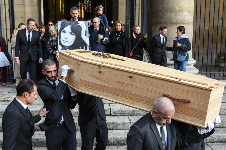 Les obsèques de Marie Laforêt ont eu lieu à Paris, le 7 novembre 2019.
