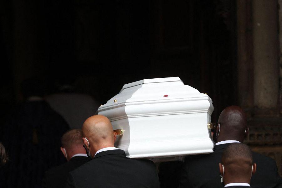 Les obsèques de Juliette Gréco ont été célébrées en l'église de Saint-Germain-des-Prés à Paris le 5 octobre 2020
