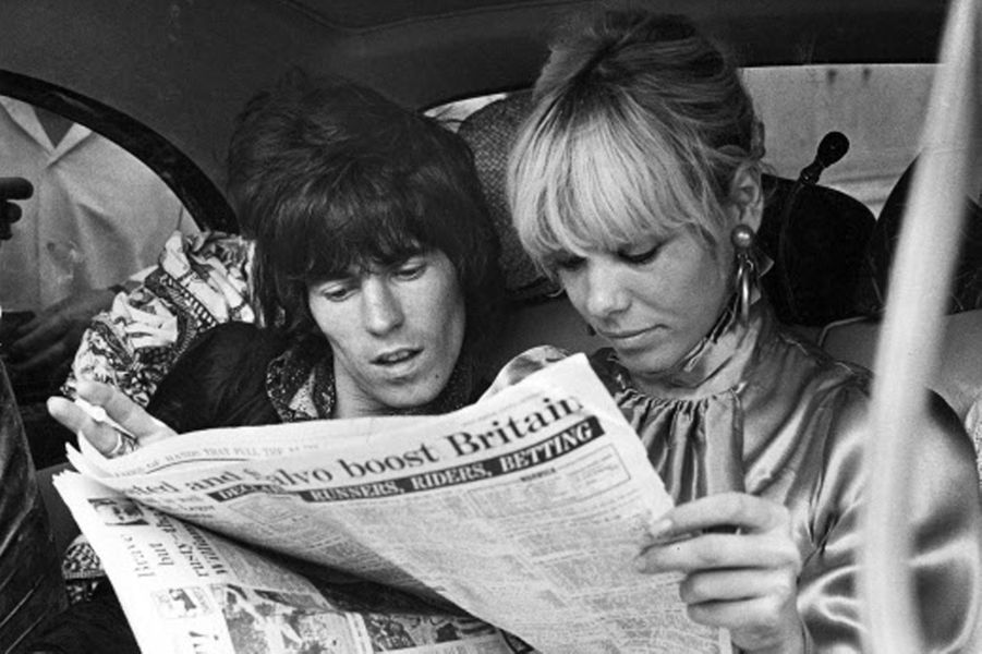 Keith Richards et Anita Pallenberg.