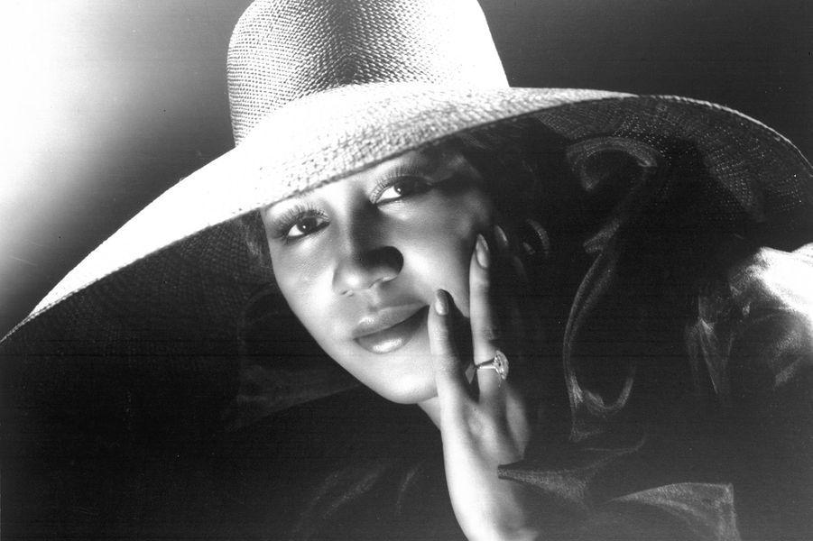 Aretha Franklin, dans les années 1980.
