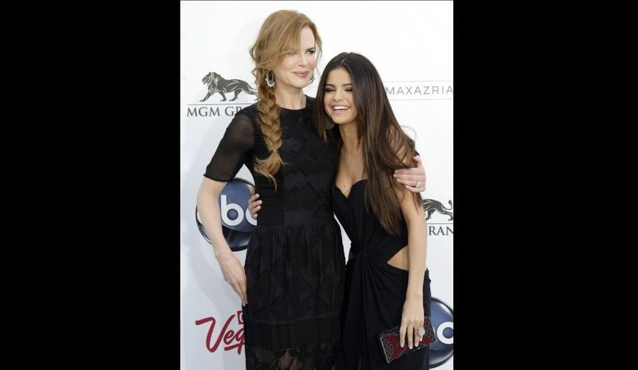 Nicole Kidman et Selena Gomez