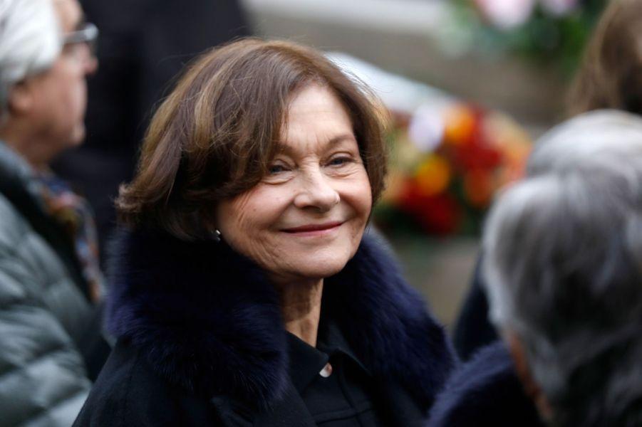 Macha Méril, l'épouse de Michel Legrand.
