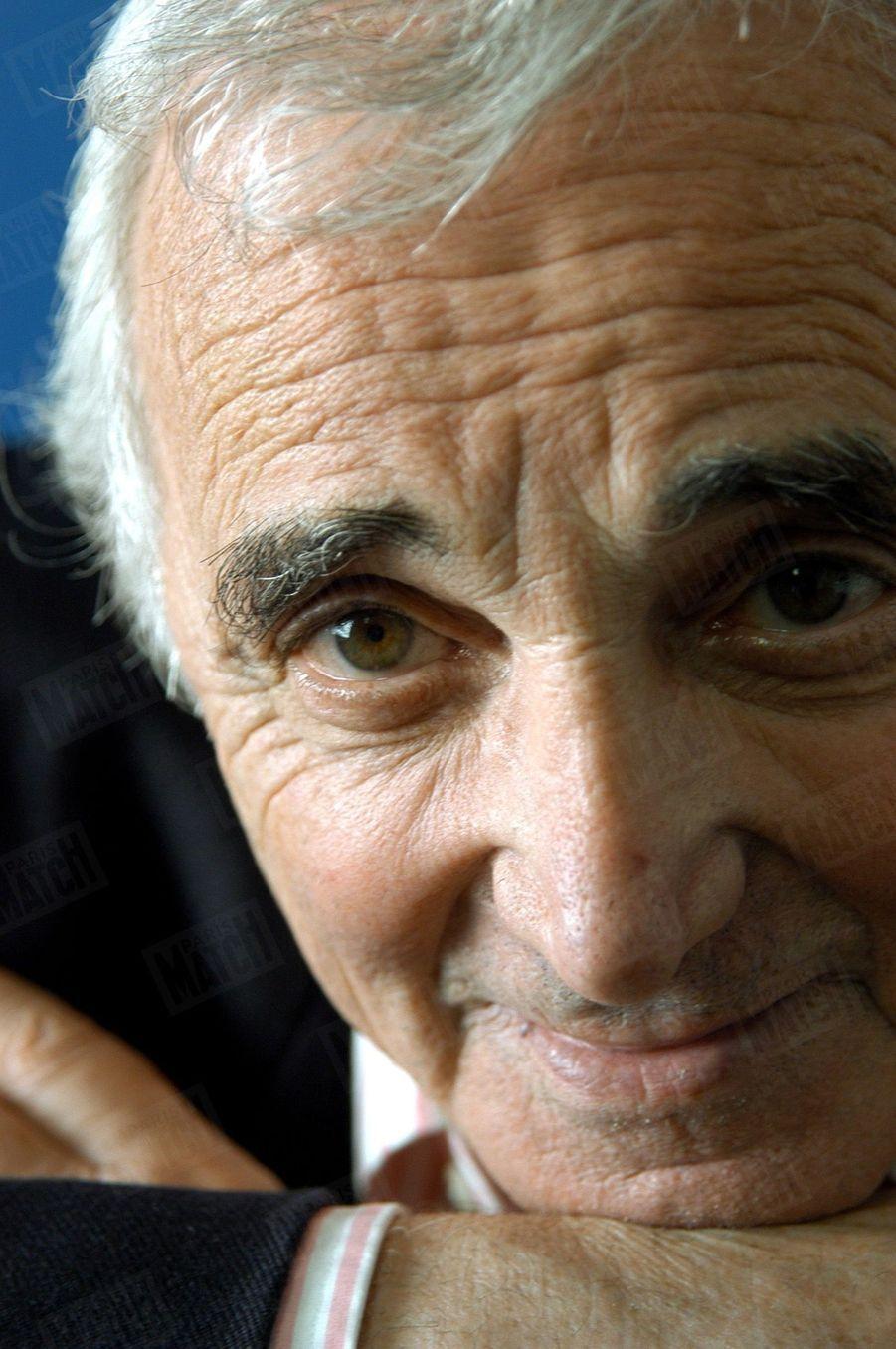 Charles Aznavour en 2003
