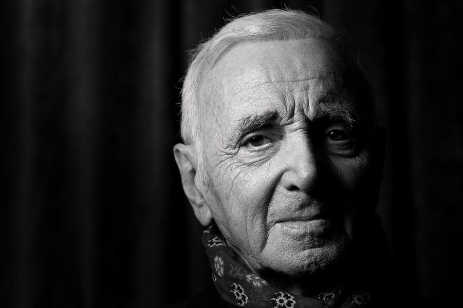 Charles Aznavour, en septembre 2015.