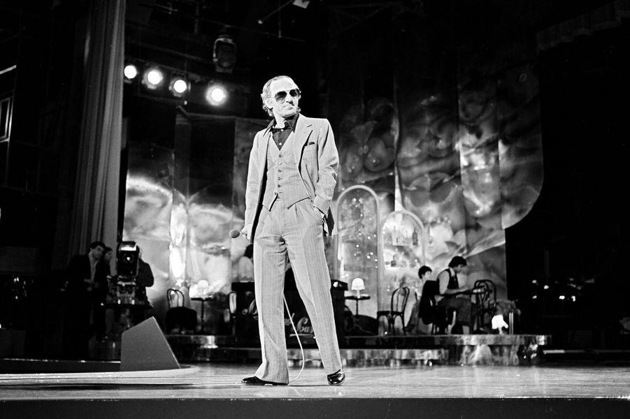 Charles Aznavour, en 1978.