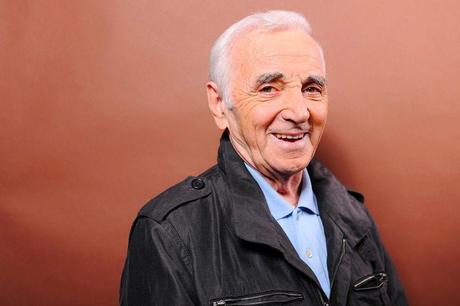 Charles Aznavour, en septembre 2011.