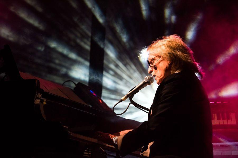 Christophe en concert à Genève en 2015.