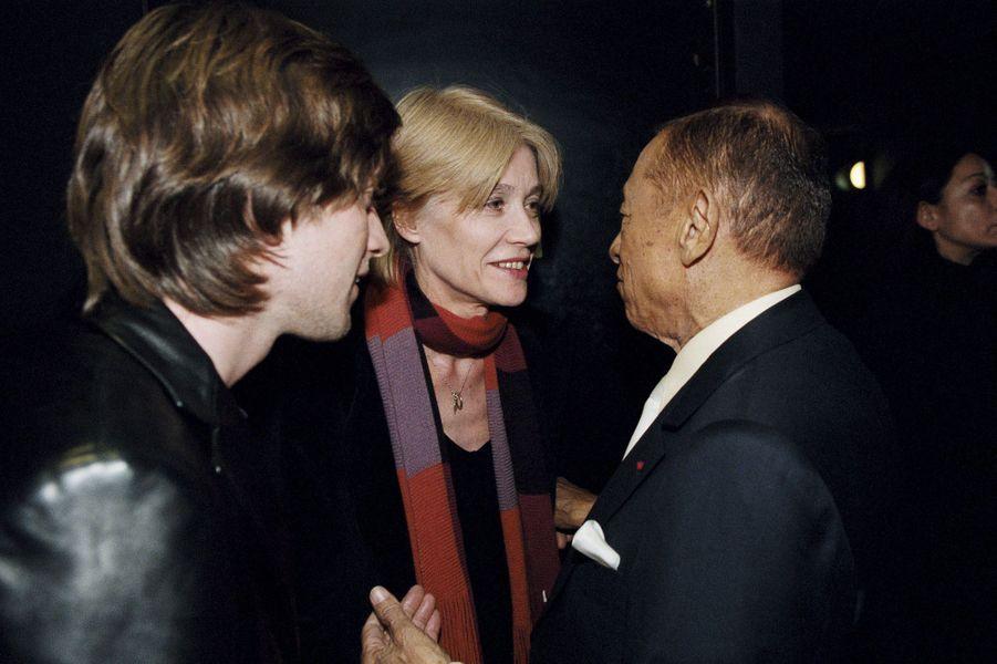 Françoise Hardy, Thomas Dutronc et Henri Salvador