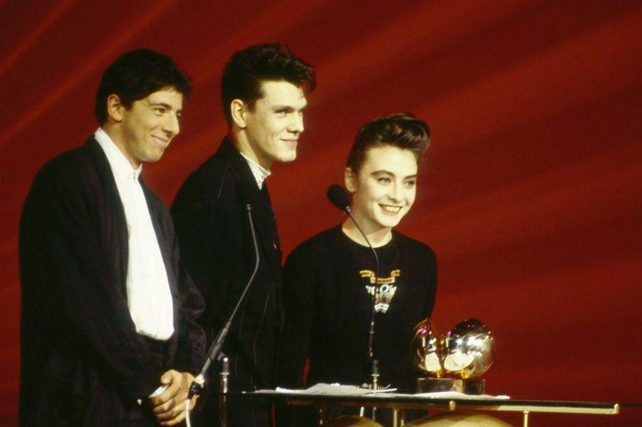 Patrick Bruel, Marc Lavoine et Catherine Ringer