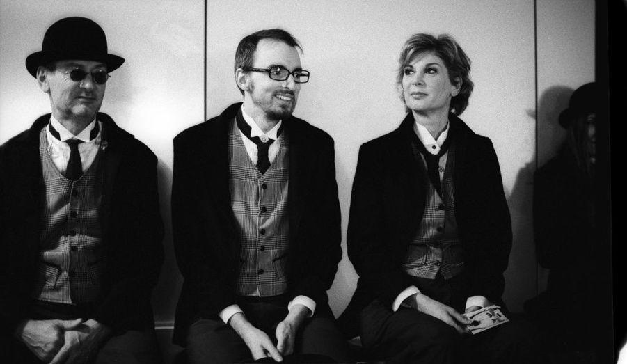 Michael Jones, Christophe Willem et Michèle Laroque.
