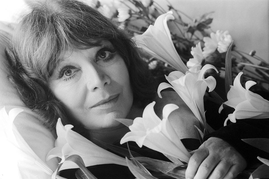 Juliette Gréco, en 1989.