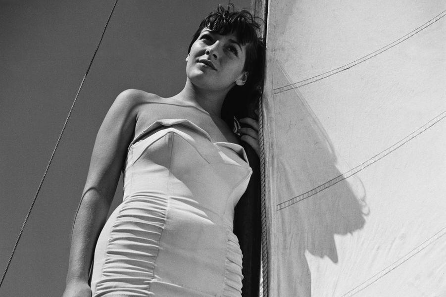 Juliette Gréco dans les années 50