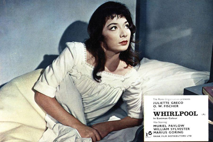"Juliette Gréco dans ""Whirpool"""