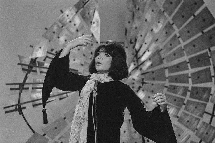Juliette Gréco en 1969.