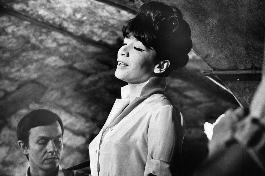 Juliette Greco dans 'Night Of The Generals' en 1966.