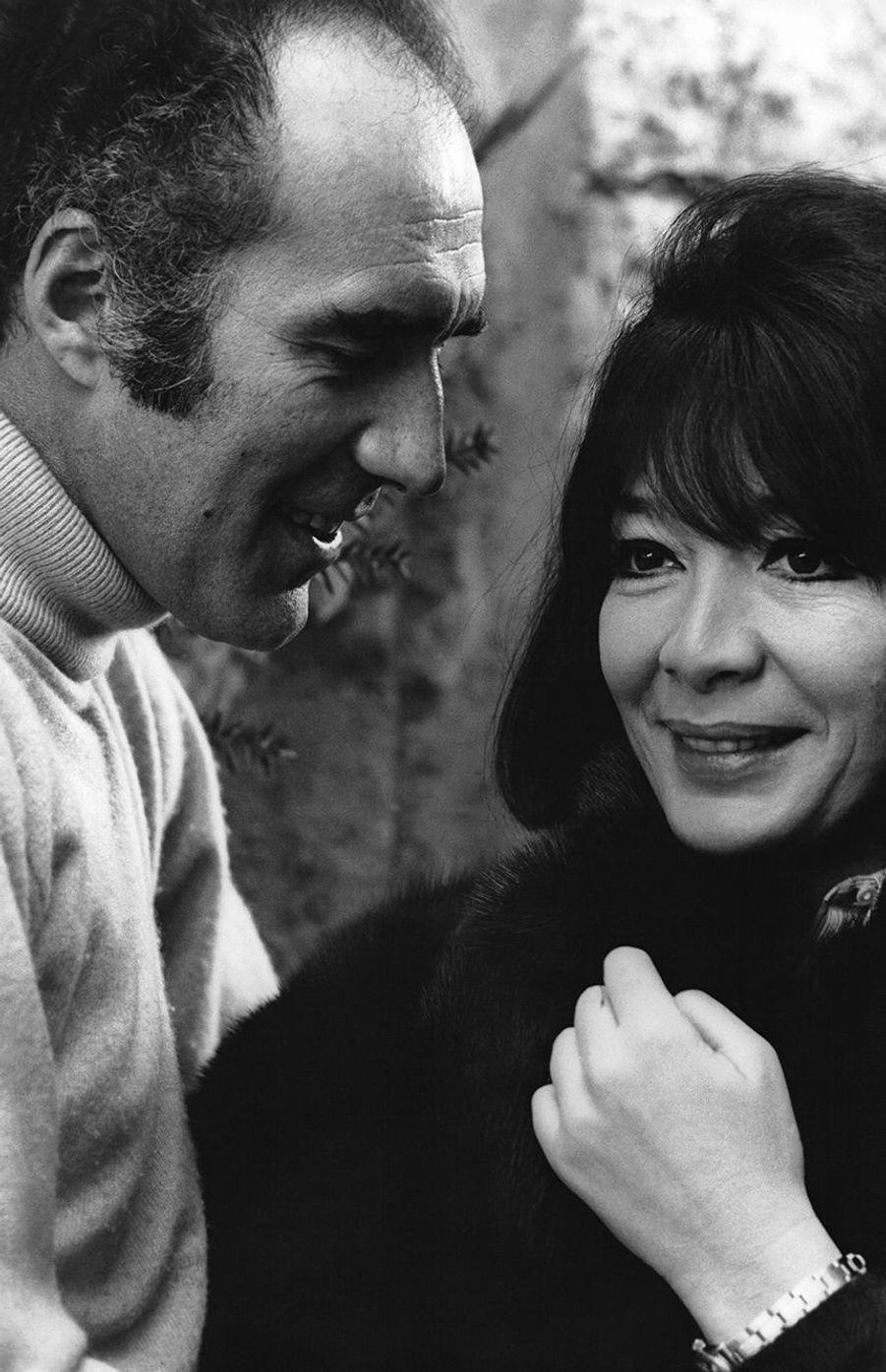 Michel Piccoli et Juliette Gréco en 1966