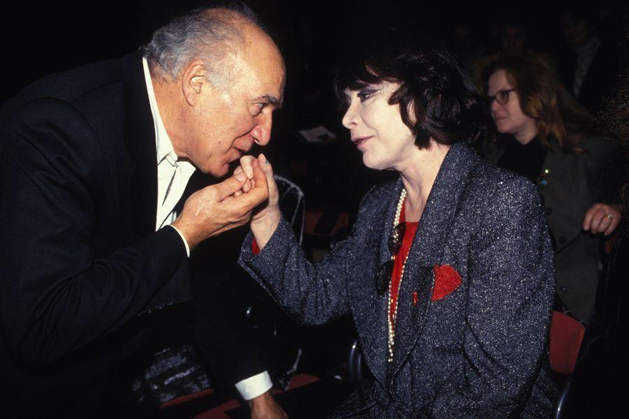 Michel Piccoli et Juliette Gréco en 1994.