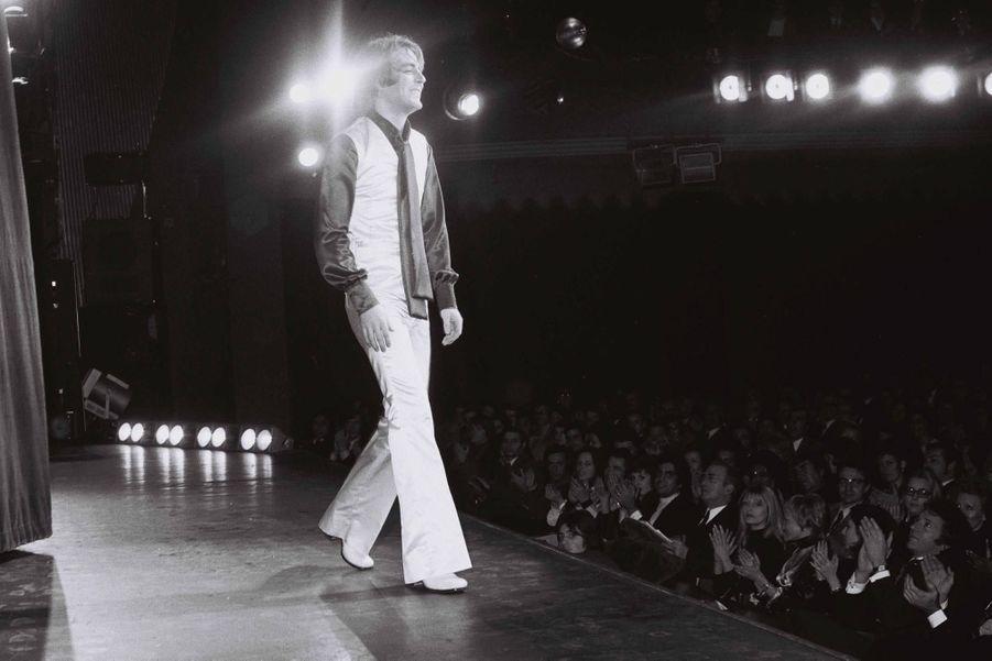 Michel Delpech en concert en 1970