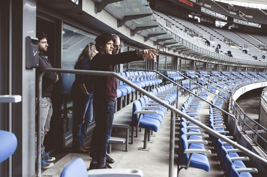 Dans les coulisses du Stade de France avec Indochine
