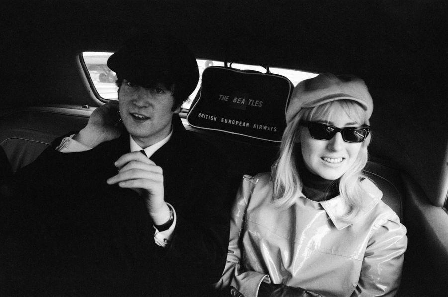 John et Cynthia Lennon en 1964
