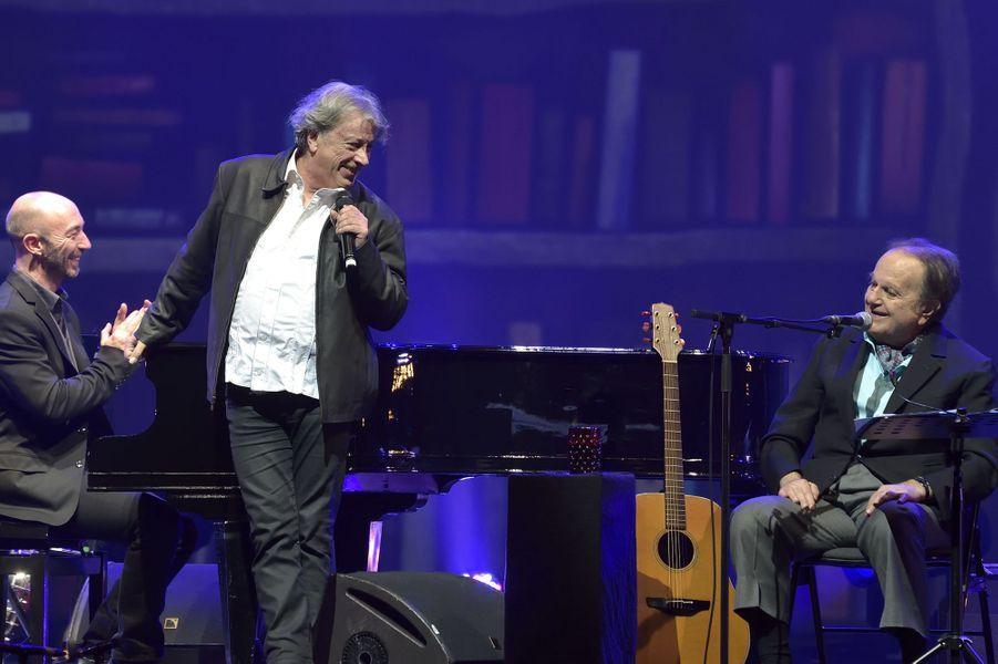 Dernier concert de Guy Béart à l'Olympia en 2015