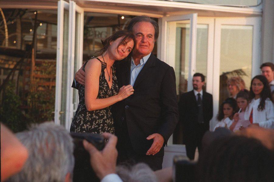 Emmanuelle et Guy Béart au Festival de Cabourg en 2000