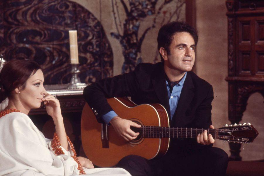 Marie Laforet et Guy Béart