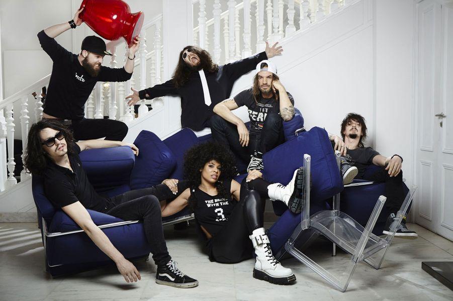 """Le groupe est nommé dans la catégorie """"Album rock"""".A lire : Saka Ponk explose le rock français"""