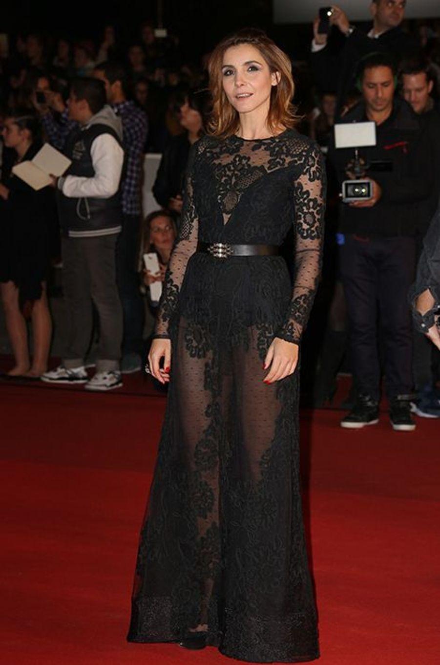 Clotilde Courau à Cannes le 13 décembre 2014