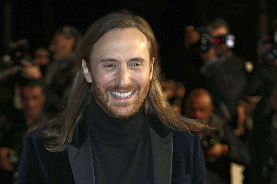 David Guetta à Cannes le 13 décembre 2014