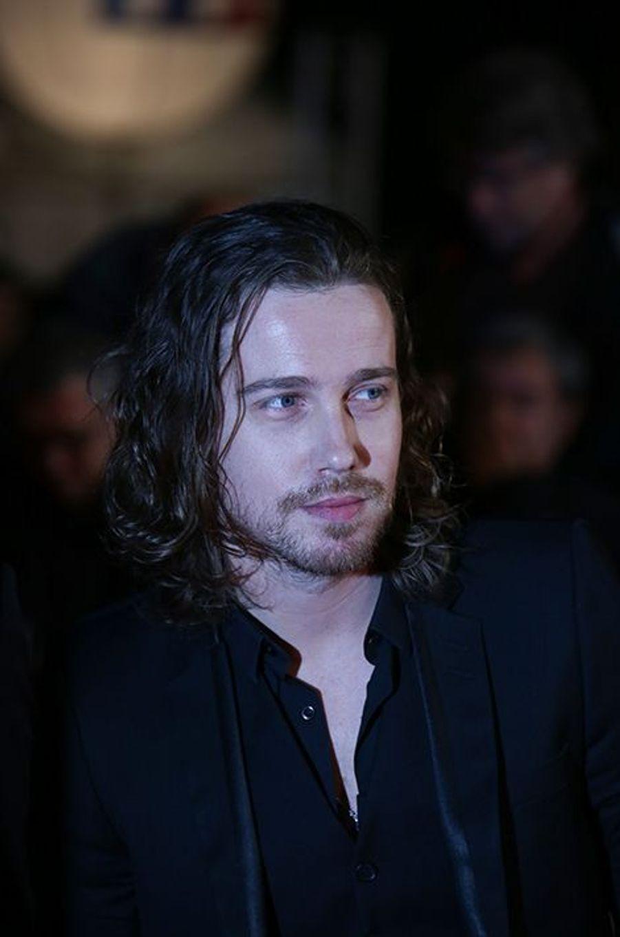 Julien Doré à Cannes le 13 décembre 2014